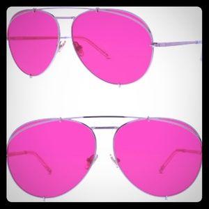 NWT DIFF Koko Red Sunglasses